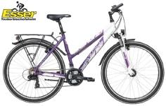 YazooSport 2.6 Mädchen 26 Zoll lila-weiß-matt