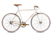 Chrisson FGS CrMo Gent 2S Kick Shift Sturmey Archer creme gold