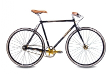 Chrisson FGS CrMo Gent 2S Kick Shift Sturmey Archer schwarz gold