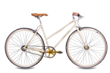 Chrisson FGS CrMo Lady 2S Kick Shift Sturmey Archer creme gold