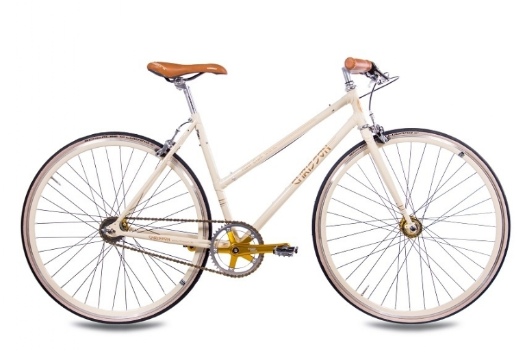Chrisson - FGS CrMo Lady 2S Kick Shift Sturmey Archer creme gold