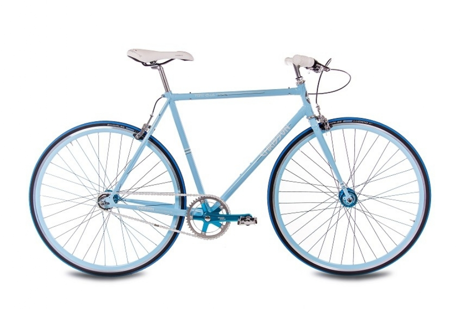 Chrisson FGS CrMo Gent 2S Kick Shift Sturmey Archer blau