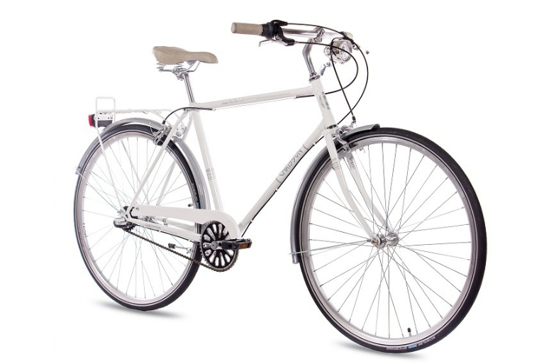 Chrisson - VINTAGE CITY GENT 3G SHIMANO NEXUS white glossy
