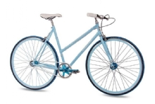 Chrisson FGS CrMo Lady 2S Kick Shift Sturmey Archer  hell blau