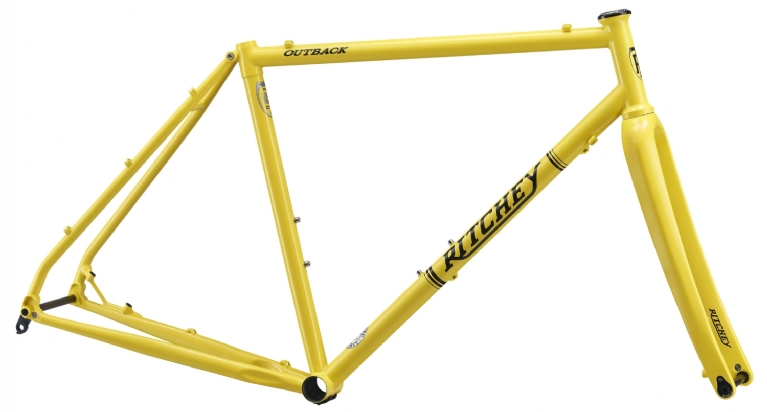 Ritchey - OUTBACK DISC Gravel Cross Rahmenset 2018 Special Edition in extravagant gelb