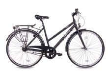 ChrissonCity One Damenrad 7G Shimano Nexus schwarz matt