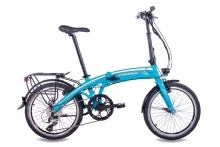 Chrisson EF1 8G ACERA & BAFANG GENERATION 2 8,7AH light blue
