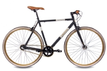 Chrisson Vintage Road Nexus 3G Urban Bike schwarz matt