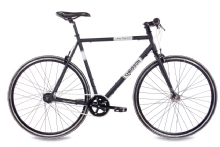 Chrisson Vintage Road Nexus 7G Urban Bike schwarz matt