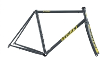Ritchey ROAD LOGIC Rahmenset 2019 grey/yellow Logo