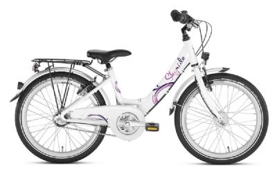 PukyKinderfahrrad Skyride 20 Zoll 3-Gang Alu (Weiß-Pink)
