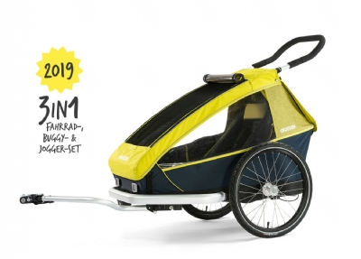 Croozer Kid for 1 (2019) Lemon Green