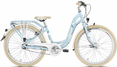 Puky Kinderfahrrad Skyride 24-7 ALU light (Retroblau / Mint)