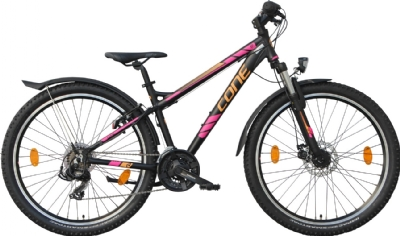 CONE Bikes 260 ND 21 Disc (Schwarz-Pink-Orange)