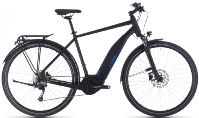 Cube Touring Hybrid ONE 500 H (Black-Blue)