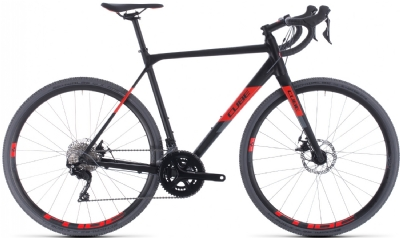 Cube Cross Race (Black-Red)