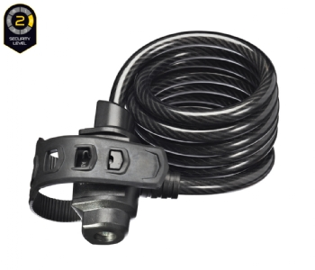 TrelockSK 222 Fixxgo Spiralkabelschloss