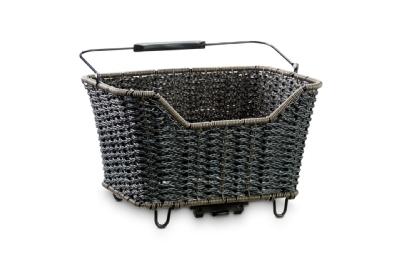 CubeGepäckträgerkorb Basket 20 Quer Rattan