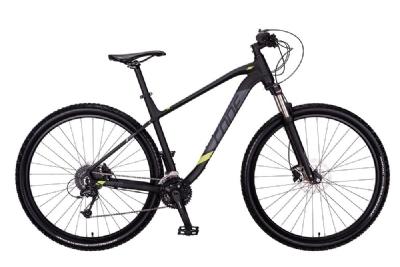 CONE BikesTrail 4.0 (Schwarz-Anthrazit-Gelb)