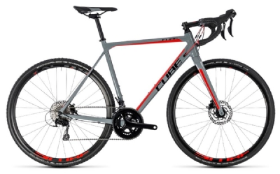 Cube - Cube Cross Race Pro grey´n´red 2018