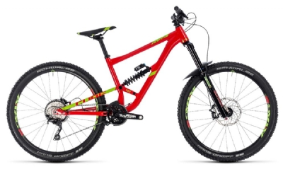 Cube - Cube Hanzz 190 Race 27.5 red´n´lime 2018 16