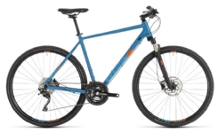 Cube Cube Cross Pro blue´n´orange 2019