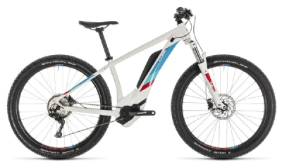 Cube - Access Hybrid Pro 500 white´n´blue 2019