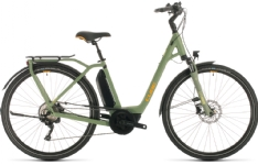 Cube Cube Town Sport Hybrid Pro 400 green´n´orange Easy Entry