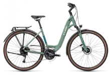 Cube Touring EXC greenblue´n´bluegreen Easy Entry