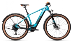 Cube Reaction Hybrid Pro Allroad petrol´n´orange