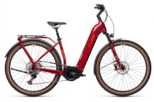 Cube Touring Hybrid EXC red´n´grey Easy Entry
