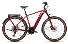 Cube Touring Hybrid EXC red´n´grey