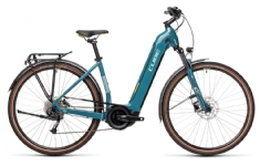 Cube Touring Hybrid ONE blue´n´green Easy Entry