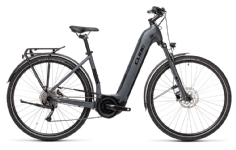 Cube Touring Hybrid ONE grey´n´black Easy Entry