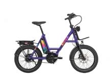 i:SYE-Bike I:sy Compact Bosch  8G FL, Gate Zahnriemen, Rainbow speed violet