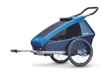Croozer Kid plus for 2 ocan blue