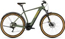 "CubeCross Hybrid Pro 625 Allroad 28"" green n orange"