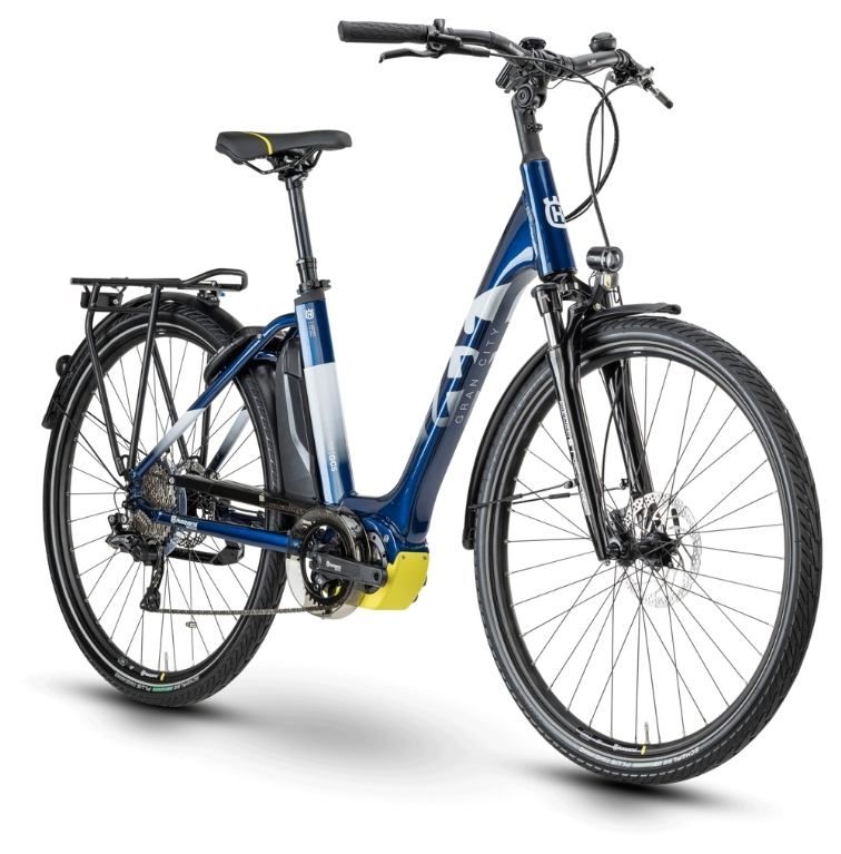 Husqvarna Bicycles Gran City GC 5 blue white yellow