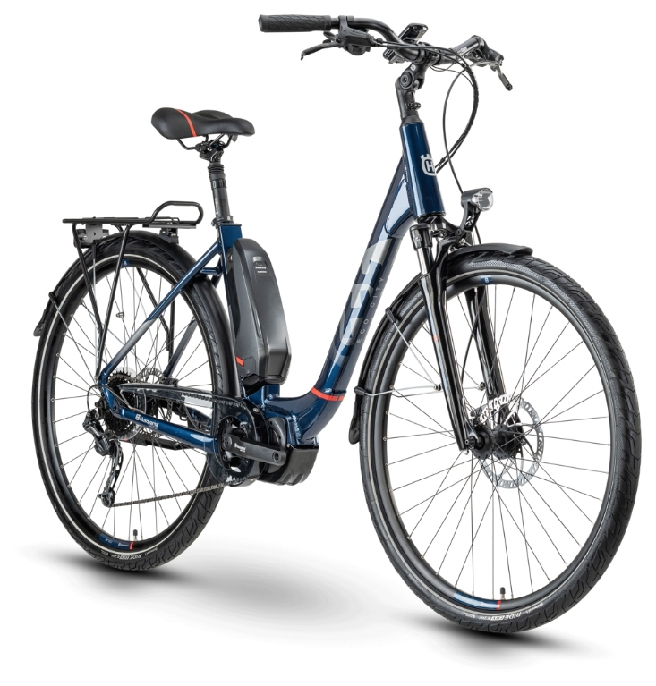 Husqvarna Bicycles Eco City EC3  blue/red