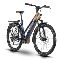 Husqvarna Bicycles Cross Tourer CT6 bronze/blue/red 27,5""