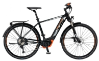 """KTM Power Sport 11 Herren E-Bike 28"""" Schwarz-Orange 11-Gang Modell 2019"""