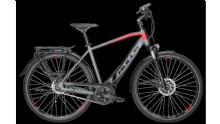 "BullsLacuba EVO E8 E-Bike 28"" Grau-Rot 8-Gang Modell 2018"