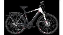 "Pegasus Premio Evo 10 Cross Street E-Bike 28"" Schwarz-Weiß 10-Gang Modell 2019"