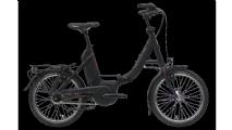 "Hercules Rob Fold R8 E-Bike 20"" Schwarz 8-Gang Modell 2019"