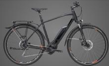 """BullsCross Street E1 CX E-Bike 28"""" Schwarz 9-Gang Modell 2019"""