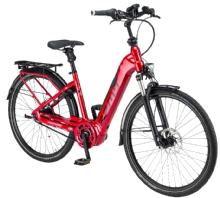 """ZemoAktiv 8R Belt E-Bike 28"""" Rot 8-Gang Modell 2019"""