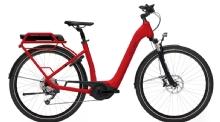 """FLYERGotour2 5.00 E-Bike 28"""" Rot 8-Gang Modell 2019"""