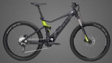 """BullsE-Stream EVO TR 2 27,5+ GPS E-Bike 27,5""""+ Schwarz-Matt/Lime 10-Gang Modell 2019"""