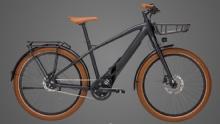 """BullsSturmvogel EVO Street E-Bike 26"""" Grau 8-Gang Modell 2019"""