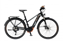 "KTMPower Sport 11+ Trapez E-Bike 28"" Schwarz-Orange 11-Gang Modell 2019"